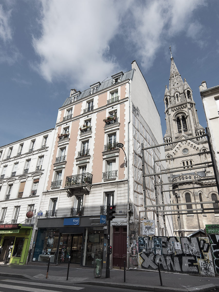 Hôtel de l'horloge - Quartier Ménilmontant