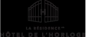 Hotel de l'horloge** logo
